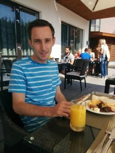 Super Breakfast on the Terrace