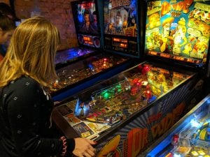 Pinball Station in Warsaw