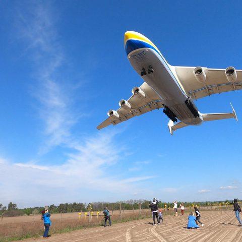 Antonov AN-225 Myria, Gostomel