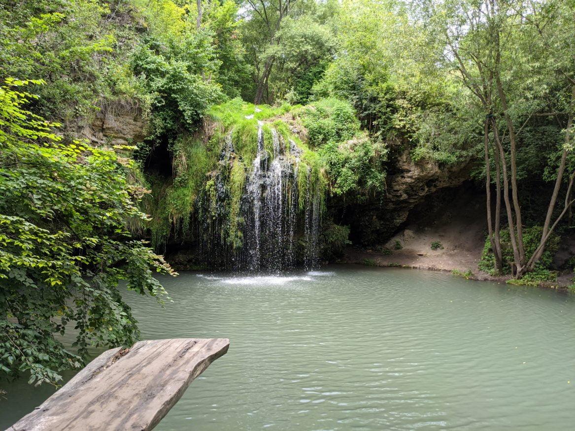 Burbun Waterfall, Ukraine