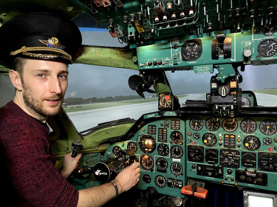 Tupolev Flight Simulator