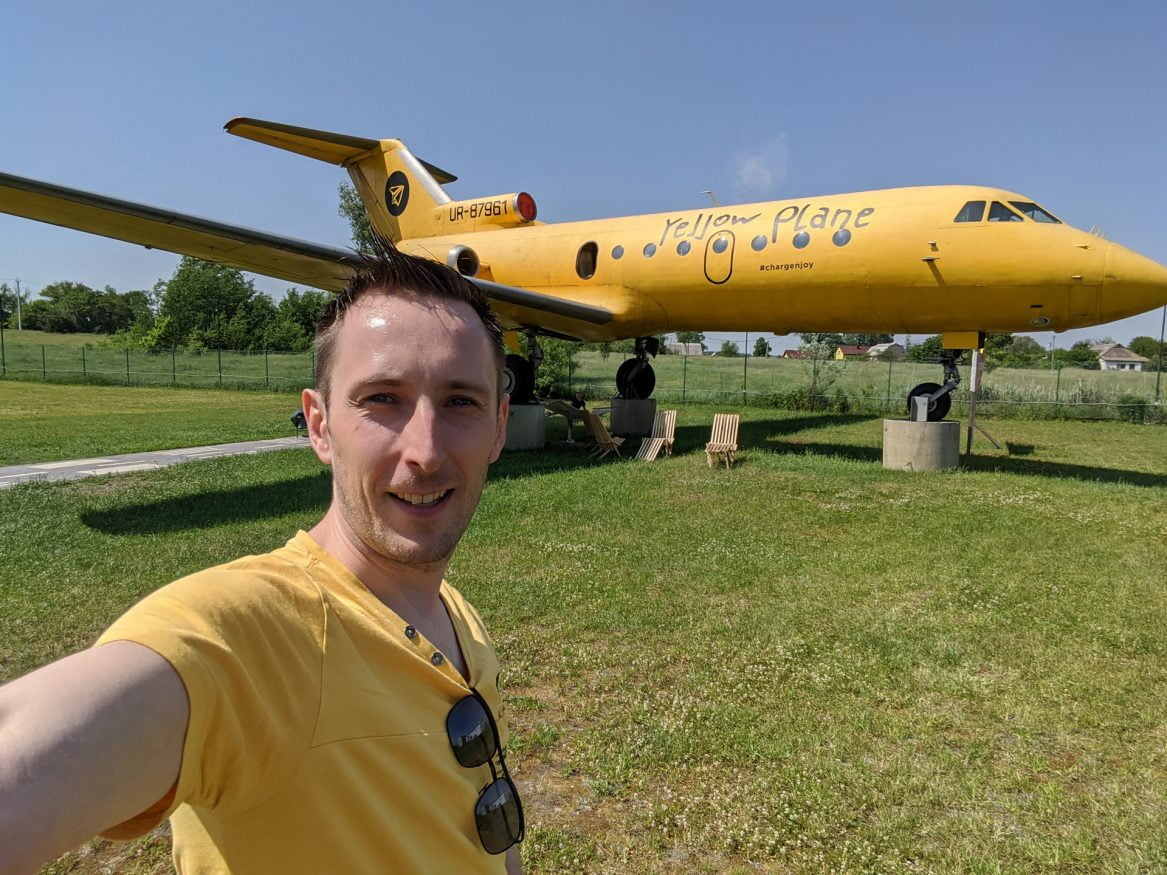 Yellow Plane, Zhytomyr